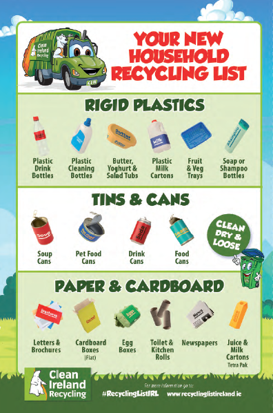Let's Recycle booklet - Clean Ireland