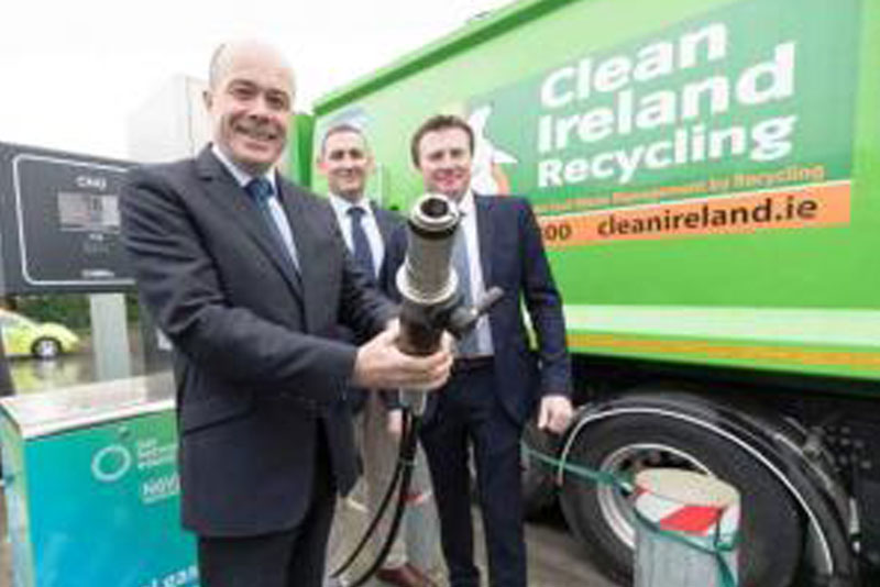 Clean Ireland Recycling opens the first private CNG plant in Ireland