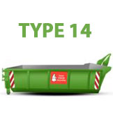 Clean Ireland Skip Hire - skip size
